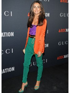 Camilla-Belle-orange-blazer-de