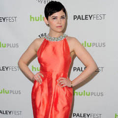 Ginnifer-Goodwin-Wearing-Orange-Dress-PaleyFest-2013